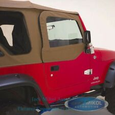 Spice 97-06 Jeep Wrangler Complete Skins Upper Doors Front Windows Metal Frames