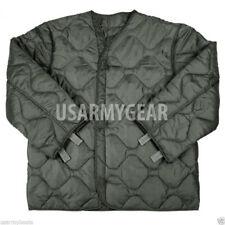 US Military M-65 Field Jacket OD Green & Foliage Coat Liner  L XL XXL NEW w Tag