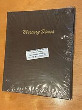 Mercury Dime Dansco Coin Album 7123 Clean New Plastic see others!