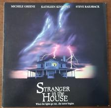 LASERDISC Movie: STRANGER IN THE HOUSE - Steve Railsback - Collectible HORROR
