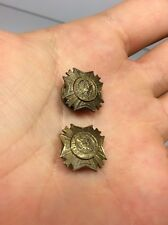 Pair VFW Threaded Pin Veterans Of Foreign Wars United States America Eagle USA