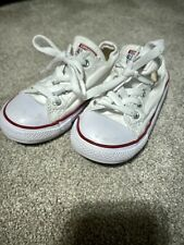 Infant Converse Trainers Size 9