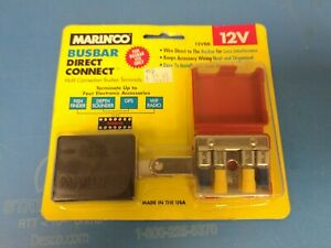 MARINCO BUSBAR DIRECT CONNECT 12VBB  CONNECT 4 APPLIANCES TO ONE PLACE