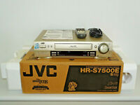 JVC HR-S7500 High-End S-VHS Videorecorder in OVP top gepglegt, 2J. Garantie