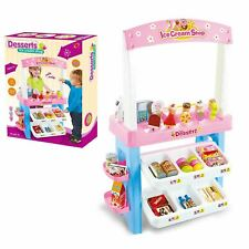 Toy 47 Piece Desserts Ice Cream parlour Fun Kids Ice Cream Shop Play set