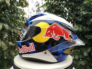 Motorcycle helmet full face Redbull  AGL ADL ADV helmet  model design