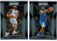 Zion Williamson Duke Pelicans 2019-20 Panini Draft Prizm Rookie RC Lot #1 #64🔥