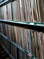 Lot of 25 Random Vinyl Records (12 inch) - Old, Real, Vintage (1930s-1980s) MIX