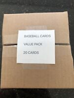 Baseball Cards Value Pack 20 Cards (12 Rookie Cards 5 Bowman Chrome  SP Num # 4