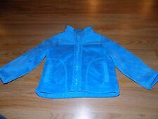Size 24 Months The Children's Place Turquoise Faux Fur Soft Zip Up Jacket EUC