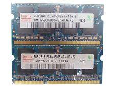 4GB (2x2GB) DDR3 PC3-8500 1066 MHz Laptop SODIMM RAM Memory Upgrade Kit 204-Pin