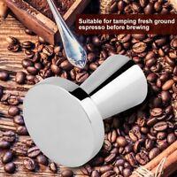 Stainless Steel Coffee Tamper Espresso Maker Grinder 40mm Base Press Tools