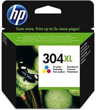 Hp Original Cartucho Impresión 304 XL Color N9K07AE Deskjet 3720 3730 3732