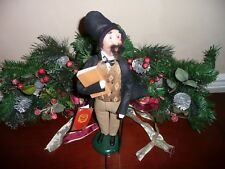 BYERS CHOICE 2012 CHARLES DICKENS ~ A Christmas Carol ~ Specialty Caroler ~ HTF