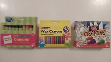 Selection of Wax Crayons (Choice of 3)