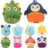 Toddler Kids Cartoon Cute Animal Plush Kindergarten Picnic Backpack Shoulder Bag