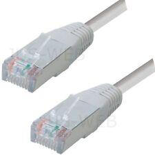 20m RJ45 Patchkabel S/FTP PiMF m. CAT 7 Rohkabel grau 10 Gigabit LAN Netzwerk TV