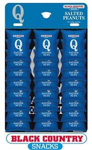 Q Salted Peanuts - Pub Hanging card nuts 24 X 50g