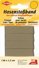 2,69€/m  Kleiber Hosenstoßband  ca 130 cm x 1,5 cm 100% BW beige 35103