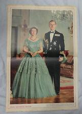 ILLUSTRATED  MAGAZINE,16th  February  1952, GEORGE VI COVER, PRINCESS ELIZABETH