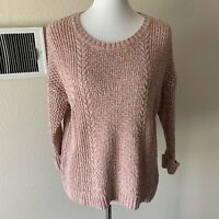 Madewell Women's Marled Plaza Pullover Sweater Size Medium