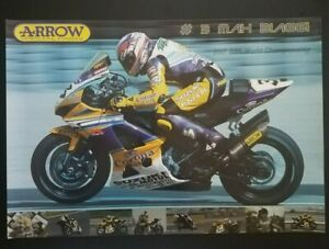 Vintage Original Poster Max Biaggi 2007 Corona Suzuki GSXR 1000 World Superbike