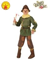RUBIES Boys Costume Fancy Dress Licensed Wizard Of Oz MR Scarecrow Deluxe 886490