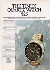 1972 Timex Watch Model #976612 $125 PRINT AD