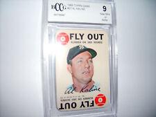 Al Kaline GRADED CARD!! Beckett BCCG 9 Near Mint!! 1968 Topps Game #27 Tigers
