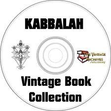 Kabbalah Vintage Book Collection on CD  - Over 20 Vintage Books