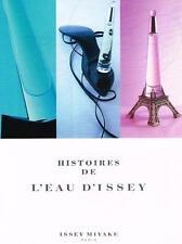 PUBLICITE ADVERTISING  2007   HISTOIRE DE L'EAU  D'ISSEY  MIYAKE  parfum