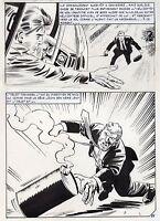 NICK CARTER  LA POUPEE CHINOISE (ALCAZAR) SUPERBE PLANCHE AREDIT PAGE 25