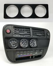 Radio Gauge Pod :: 96-98 Honda Civic (all) 52mm x 3 / Tri-Gauges plate delete EK