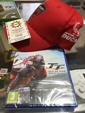 Tourist Trophy: Isle Of Man   PS4 NUOVO SIGILLATO + CAPPELLINO DUCATI IN REGALO