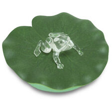 Floating Frog on Water Lily Color-Changing LED Tea Light