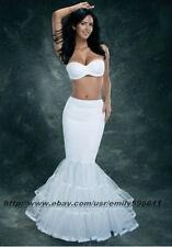 Ivory Lycra Tulle Mermaid Trumpet Style Wedding Gown Petticoat Crinoline Slip