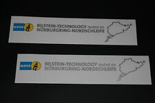 Bilstein Aufkleber Sticker Decal Bapperl Federung Fahrwerk Supension NÜRBURGRING