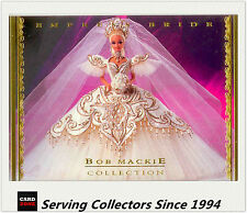 1997 Tempo World Of Barbie Trading Cards Bob Mackie Subset BM7 Empress Bride