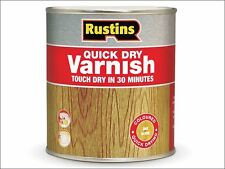 Rustins - Quick Dry Varnish Gloss Clear 250ml
