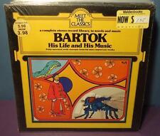SEALED BARTOK Meet The Classics 1974 GF LP spoken word & music