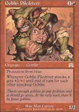 *MRM* ENG Goblin piledriver - Pelleteur gobelin SIGNED MTG Onslaught