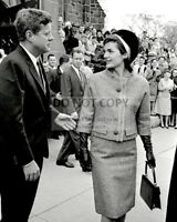 BB-774 KENNEDY /& JACKIE PREPARE TO LEAVE FOR VIENNA 8X10 PHOTO JOHN F