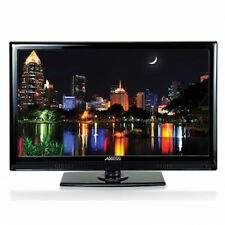 "PORTABLE 24"" Widesscreen HD LED TV 12v DC/AC Dual Power AXESS TV1701-24 NEW"