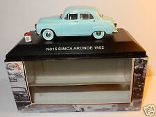 RARE NOSTALGIE N015 SIMCA ARONDE 1952 BLEU CLAIR 1/43 IN BOX