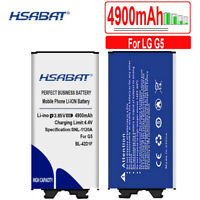 HSABAT 4900mAh Battery for LG G5 BL-42D1F H850 H820 H830 H831 H840 And ect
