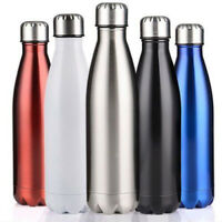 Stainless Steel Vacuum Insulated Bottle Water Drinks Flask Thermoses 500ml