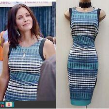 Size 16 UK Karen Millen Celebrity Geo Print Pencil Dress Business Occasion Party
