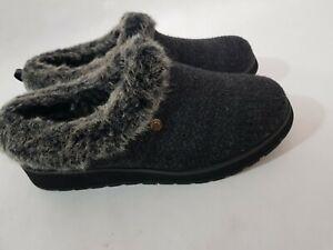 Skechers Bobs Keepsakes Slip On Memory Foam Warm Slippers Size UK 7 worn once