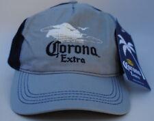 NWT Corona Extra Blue & Gray One Size Strapback Dad Hat Baseball Cap