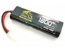 Batería Stick Pack 7.2V 1800mah NiMh conector Tamiya Leopard Power Fussion Sport